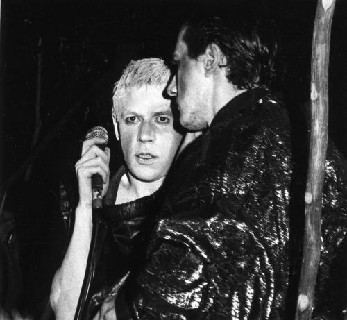 Christophe, Thierry, Theatre du Forum des Halles, Paris 1984